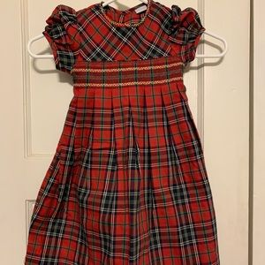 Edgehill Collection Red Plaid Dress